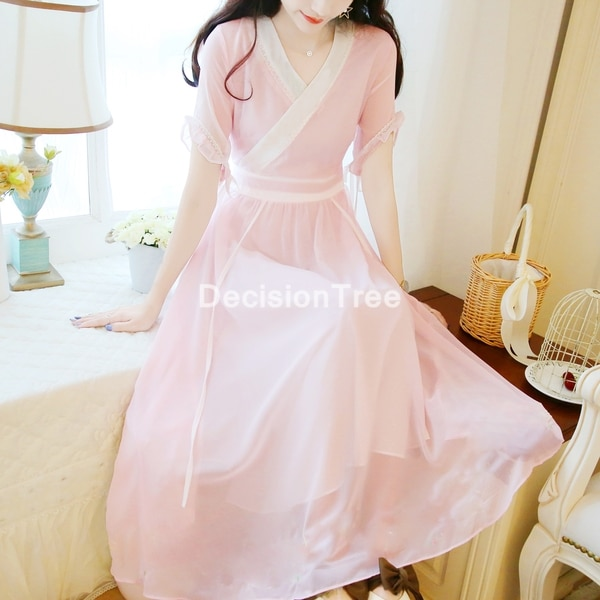 2021 hanfu النساء أزياء رقص الصينية القديمة الصينية التقليدية فستان المرحلة الجنية أداء زي فستان جنية أنيقة