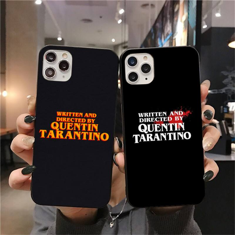 cutewanan-written-directed-quentin-tarantino-coque-shell-phone-case-for-iphone-11-pro-xs-max-8-7-6-6s-plus-x-5s-se-2020-xr-case