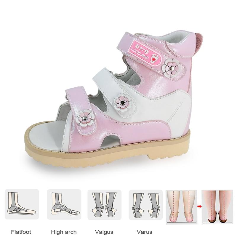 الأطفال الصنادل للفتيات الفتيان الصيف مسطح تقويم العظام حذاء كاجوال أطفال طفل لطيف الرياضة الشاطئ Footwear1 2 3 سنة