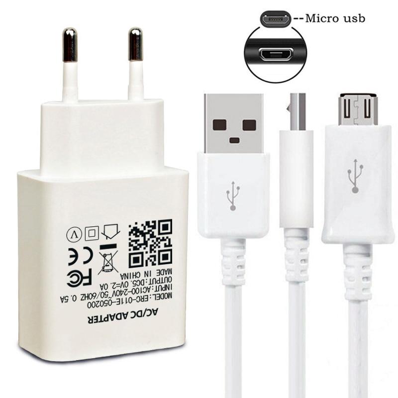 Cable de cargador de pared para móvil Cable Micro USB de carga...