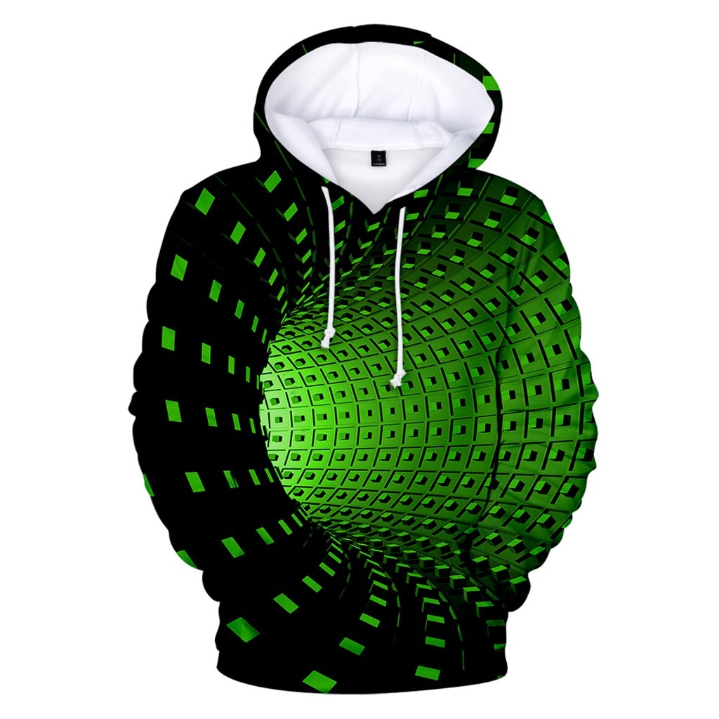 Sudaderas con capucha para hombre, ropa con estampado 3D, creativa, de cuello...