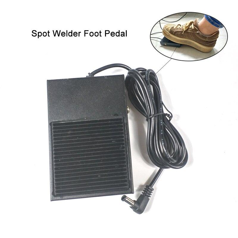 Interruptor de pie para soldador de punto de batería de pedal para 709A 709AD 709AD + 787A 788H 737G + soldador de punto de soldadura de pie