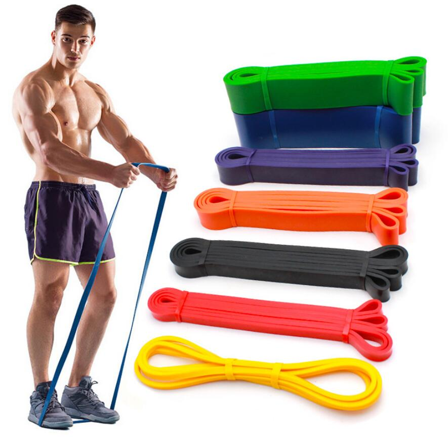 Bandes de résistance élastiques en Latex naturel pour le Yoga, équipement dentraînement physique intensif