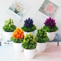 a man made garden mini bonsai plant wedding decoration birthday party celebration ceremony home garden decoration accessories