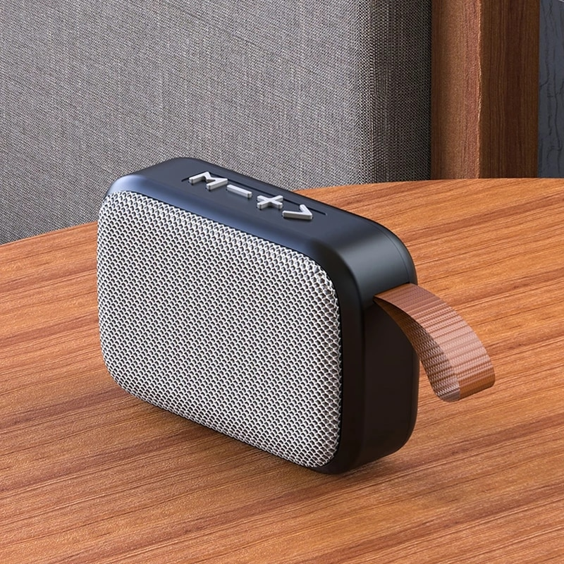 G2 Bluetooth Speaker Outdoor USB Wireless Subwoof Mini Sound Box Support BT4.2 TF Card FM Radio Speakers Voice Broadcast