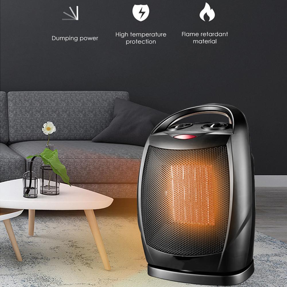 Mini calentador eléctrico portátil con protección contra el sobrecalentamiento para coches coche de accesorios de oficina en casa