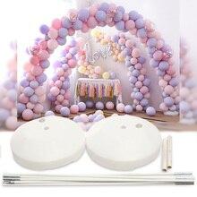 Ballon arche Kit fête danniversaire mariage grand ensemble colonne cadre arche colonne support Base bricolage fête de mariage boutique porte décoration