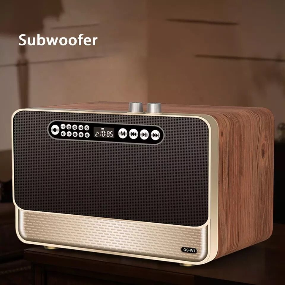 مكبر صوت بلوتوث لاسلكي منزلي ، مكبر صوت عالي الطاقة 30 واط ، مضخم صوت ، صوت محيطي ثلاثي الأبعاد ، دعم TF/USB/AUX/FM