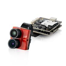 Tarsier 4K 30fps 1200TVL Dual Lens Super WDR WiFi Mini FPV Camera HD Recording DVR Dual Audio OSD for RC Racing Drone