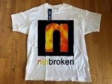 vintage NINE INCH NAILS Broken Fixed 1994 t shirt Trent Reznor Downward Reprint(1)