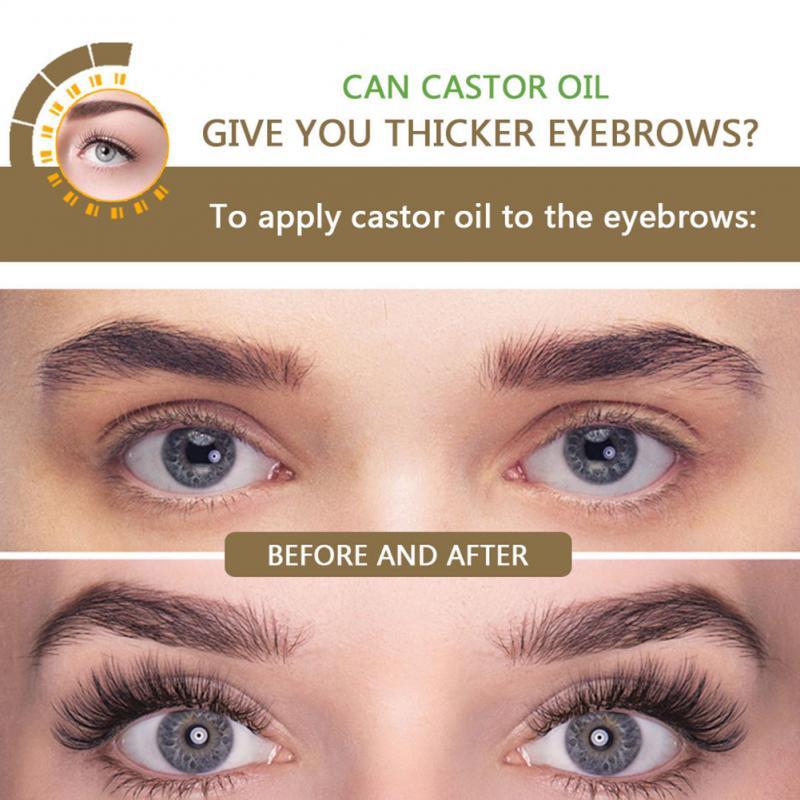 Eyelash Growth Essential Oil Nourishes Eyebrows Natural Thick Growth Liquid Mild Moisturizing Promotes Eyelash Growth Sesame Oil