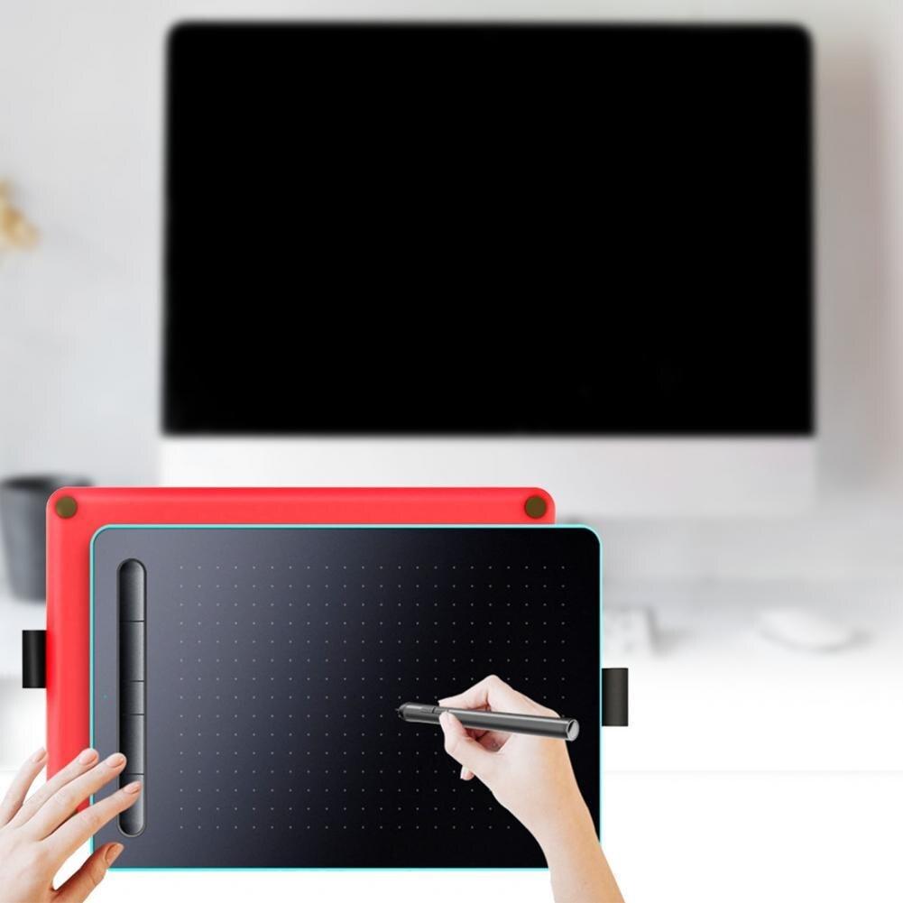 5080LP1 القلم الرقمي الرسم الرقمي على الانترنت الرسم التدريس الرسم الجدول مع 5 مفاتيح اختصار عدة لنظام أندرويد