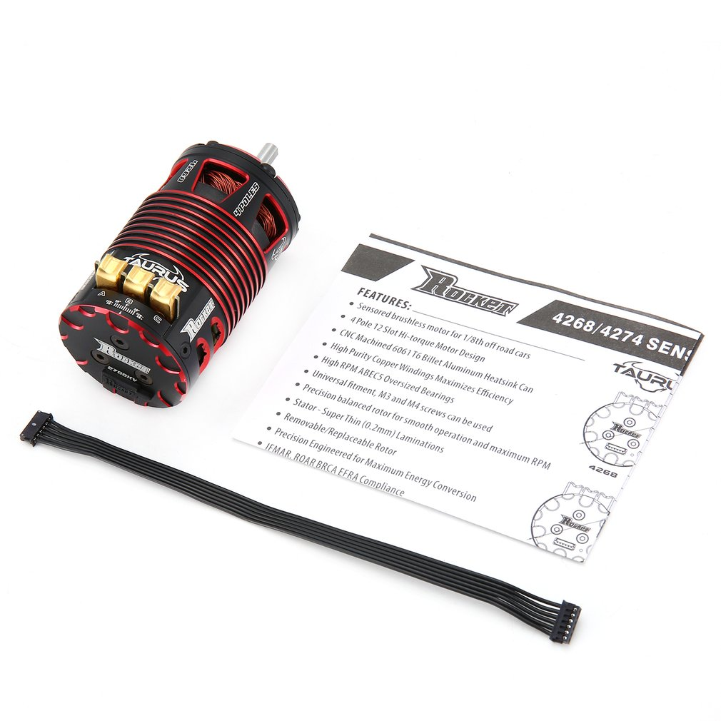 HOT SALE 4268 4274 1700KV 1950KV 2150KV 2200KV 2450KV 2700KV 4 Poles Sensored Brushless Motor for RC