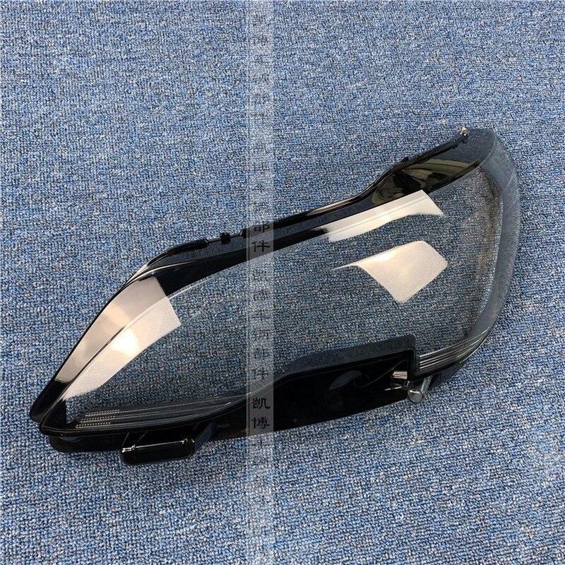 Couverture de phare de qualité dorigine pour 16-19 Peugeot 4008 coque de phare de voiture phare transparent boîtier de lampe couvercle en verre