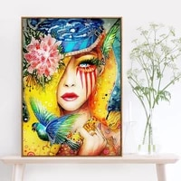 modern fashion woman picture prints on canvas girl room decoration poster paintings for interior frameless wall art