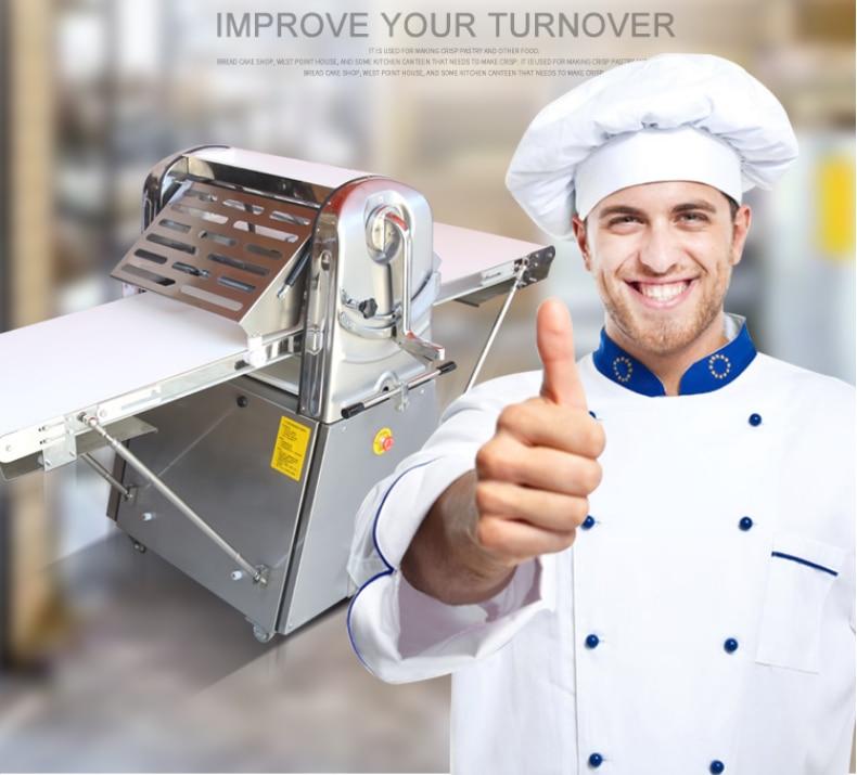 Kommerziellen Maschine Bäckerei Ausrüstung Gebäck Ausrollmaschine/Croissant Maschine