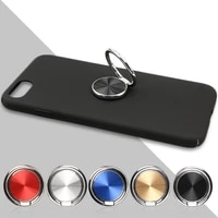 new metal mobile phone ring holder telephone cellular support accessories magnetic car bracket socket stand for mobile phones