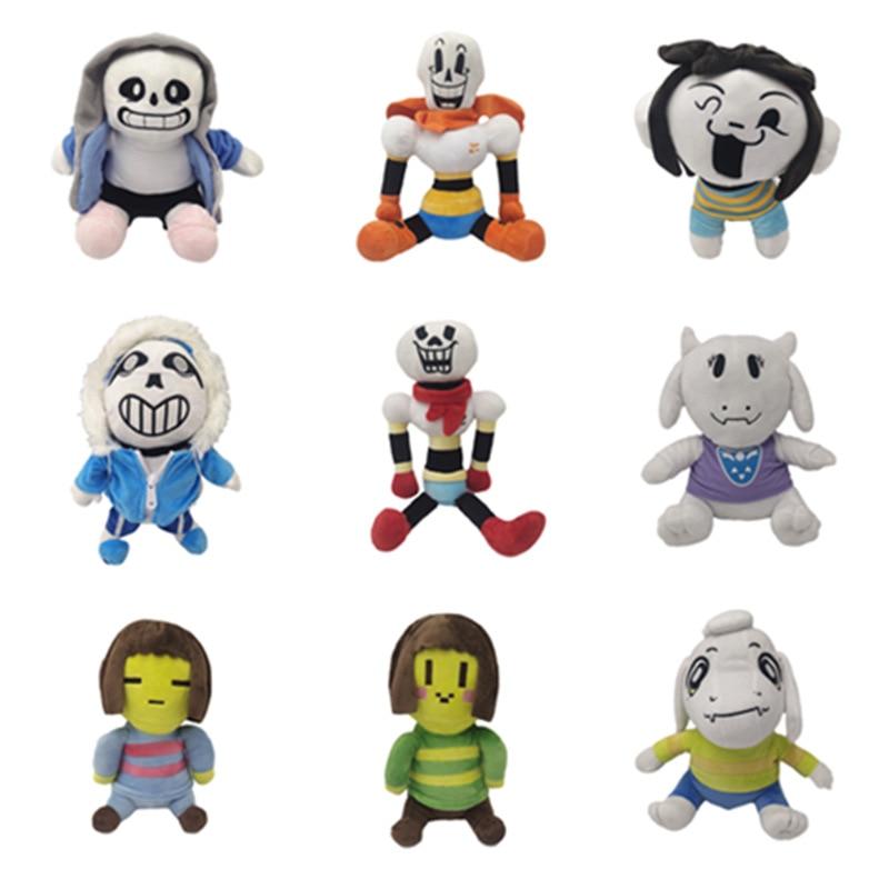Undertale Plush Toy Zombie Toy Errortale Plush Doll Sans Designer Soft Stuffed Plush Doll Toys For Children Halloween Gifts недорого