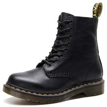 Martens Boots 8-hole Soft Leather Martin Boots Women Retro Lace-up Boots Men Women Ankle Boots