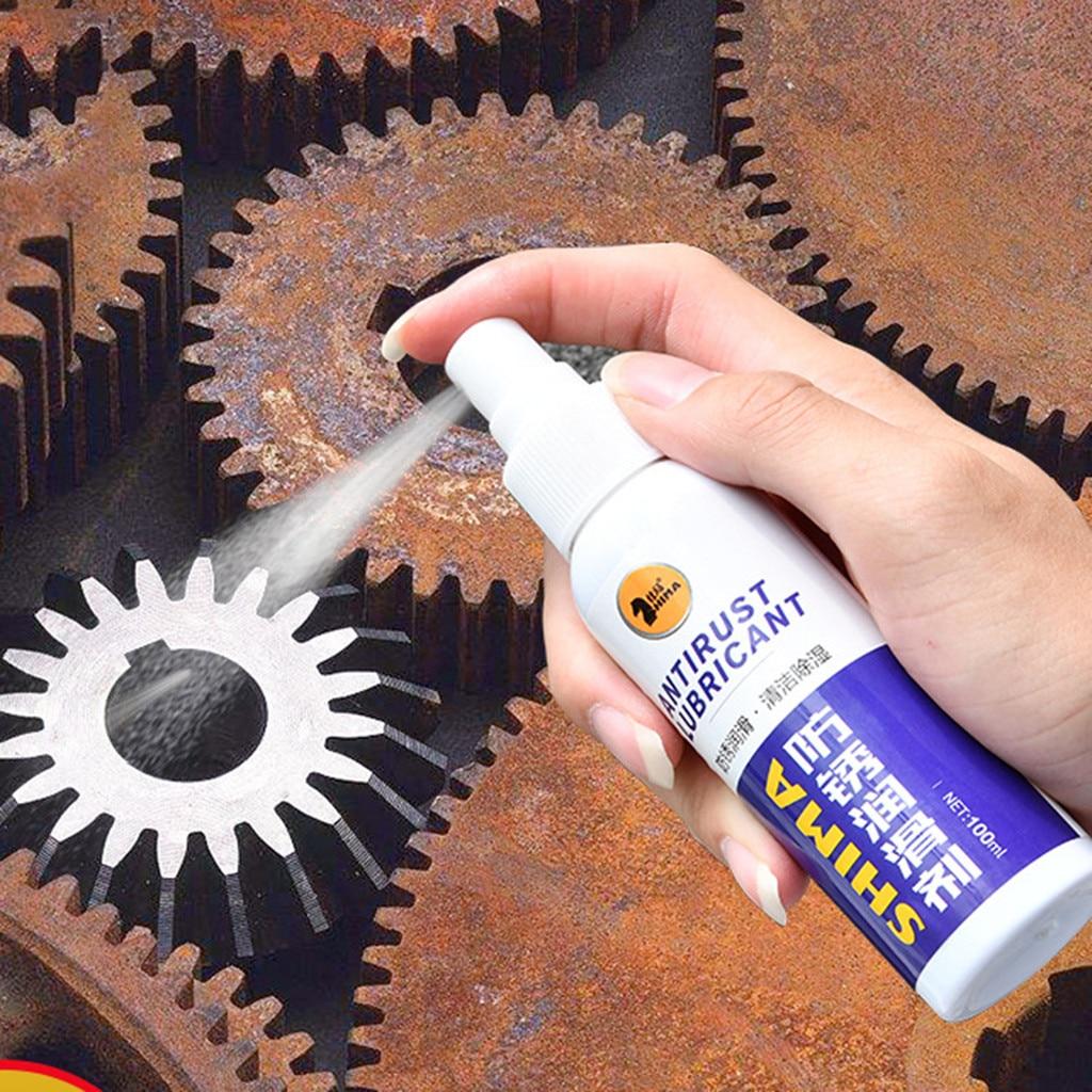120 мл Новая металлическая поверхность ингибитор спрей хромированная краска машинное обслуживание железный порошок чистящие принадлежност...