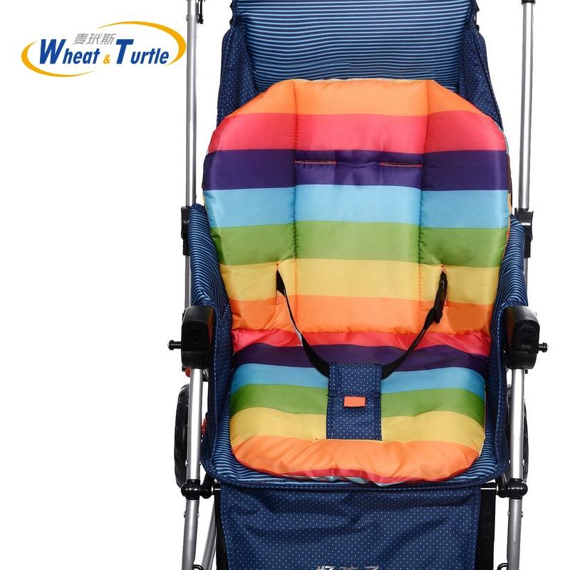 Подушка для детской коляски Rainbow, сиденье для коляски, коврик для детской коляски, стулья для коляски, аксессуары для коляски