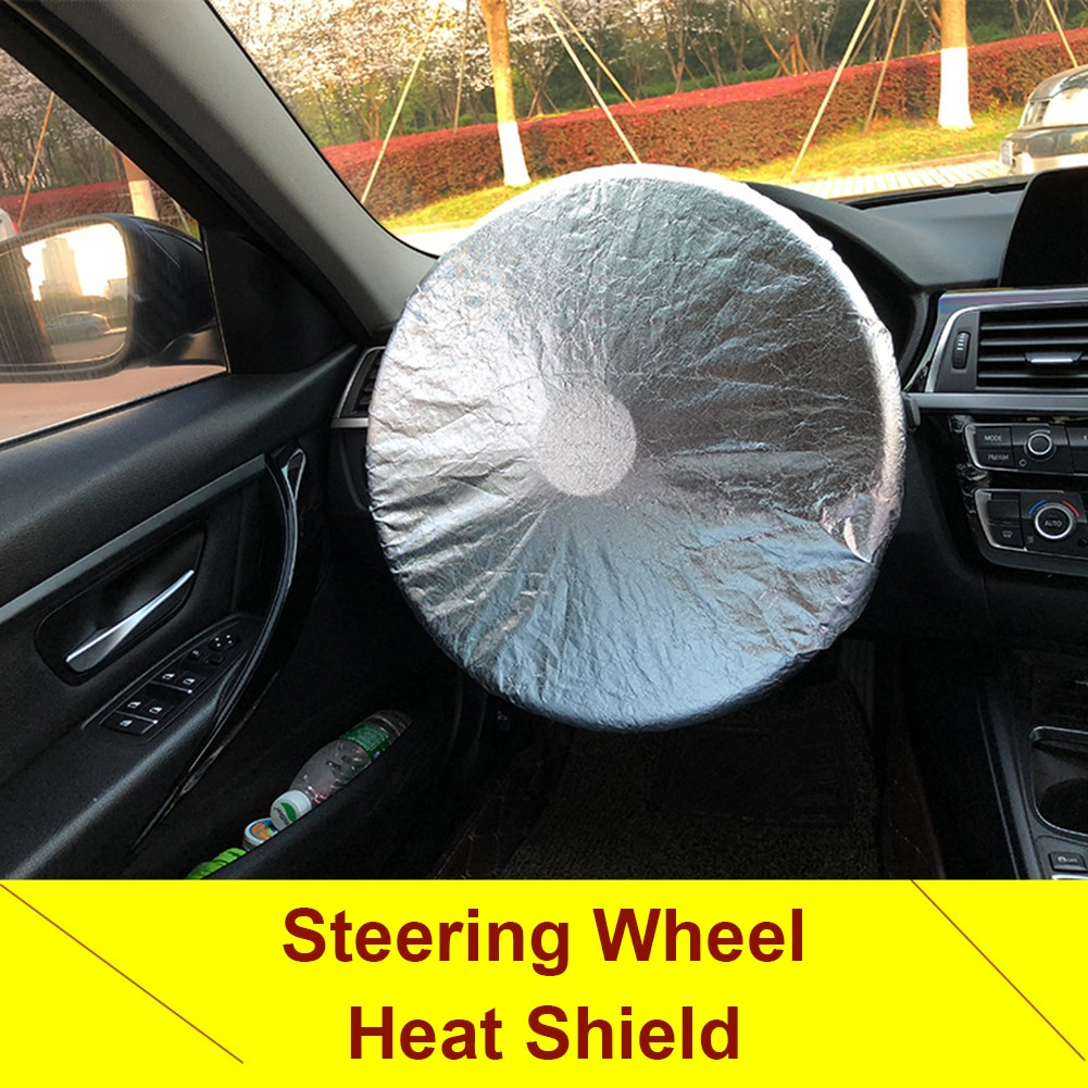 Car Sun Shade Cover Insulated Steering Wheel Block For GM Interior Decorative Accessories Auto Styling Parts