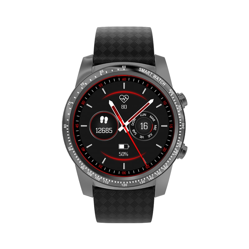 Allcall Awatch W1 3G 16GB 2GB Smartwatch الرجال رباعية النواة 1.39 بوصة سيم واي فاي لتحديد المواقع ، مقاوم للماء الهاتف Smartwatch iOS أندرويد الهاتف