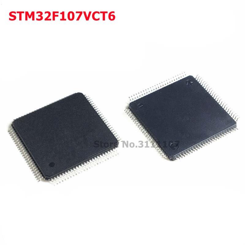 STM32F107VCT6 32-وحدة تحكم مصغرة بالبت رقاقة LQFP100