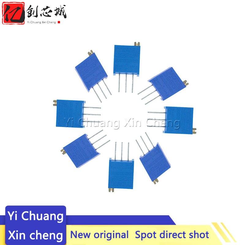 10PCS 3296W-1-204LF 3296W 200K ohm 204 3296W-1-204 3296W-204 W204 Trimpot Trimmer Potentiometer
