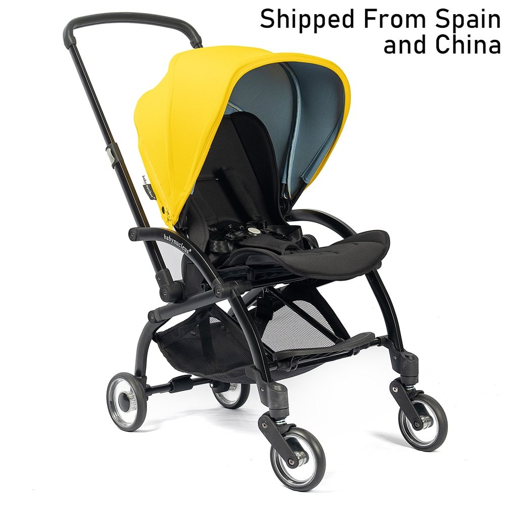 Urban One-Piece Fold Two Facing Baby Stroller with Reversible Seat High Quality Infant to Toddler Pram