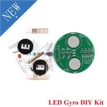Electronic DIY Kit LED Gyro Kit DIY Rotating Lantern Desktop Electronic Components Parts DIY Electro