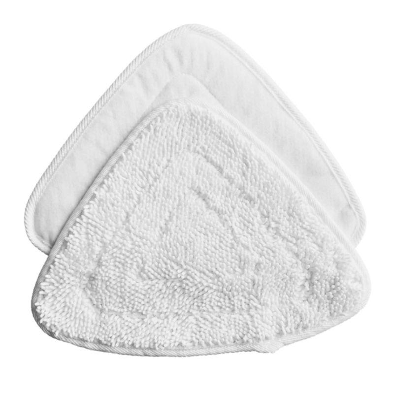 Relleno de microfibra, almohadillas de vapor para mopa, repuesto para o-cedro, paquete de 2