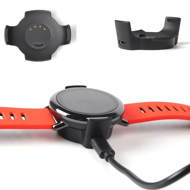 Smartwatch USB Charging Cable Cord Base Dock Charger Cradle Adapter Stand for Xiaomi Huami Amazfit Pace 1st Sport Smart Watch