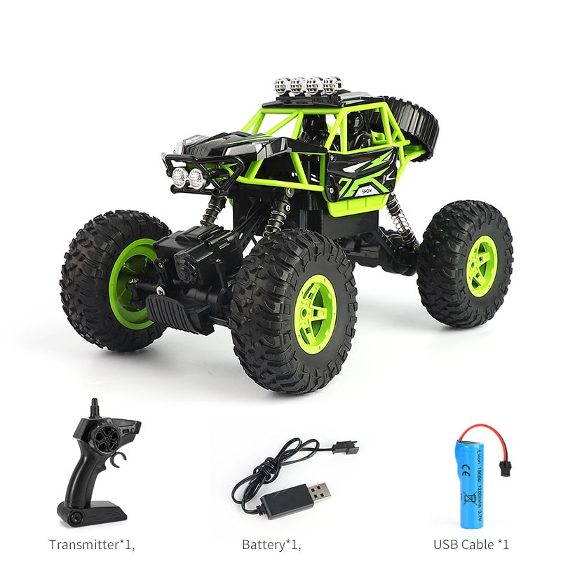 New product off-road four-wheel drive four-way racing high-speed climbing remote control car rc children boy remote control car enlarge