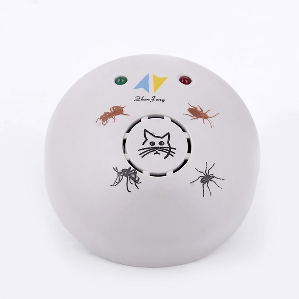 Repelente de pragas ultrassônico eletrônico da multi-função anti baratas formigas pulgas aranhas mosquito pragas rejeitar bugs expeller 220-240v