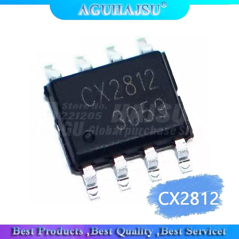 10 pçs/lote CX2812 SOP-8 three-way única lâmpada integrado chip IC original