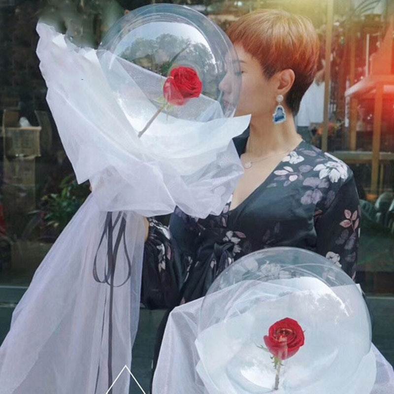 Globos Led San Valentín regalo aniversaire cumpleaños fiesta decoraciones adulto aniversaire San Valentín Walentynki novia Gonfleur