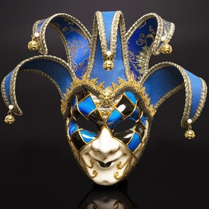 Italy Venice Full Face Anti-Ancient The Mask Festival Party Christmas Masquerade Carnival Facial Mask Halloween Cospaly Masks
