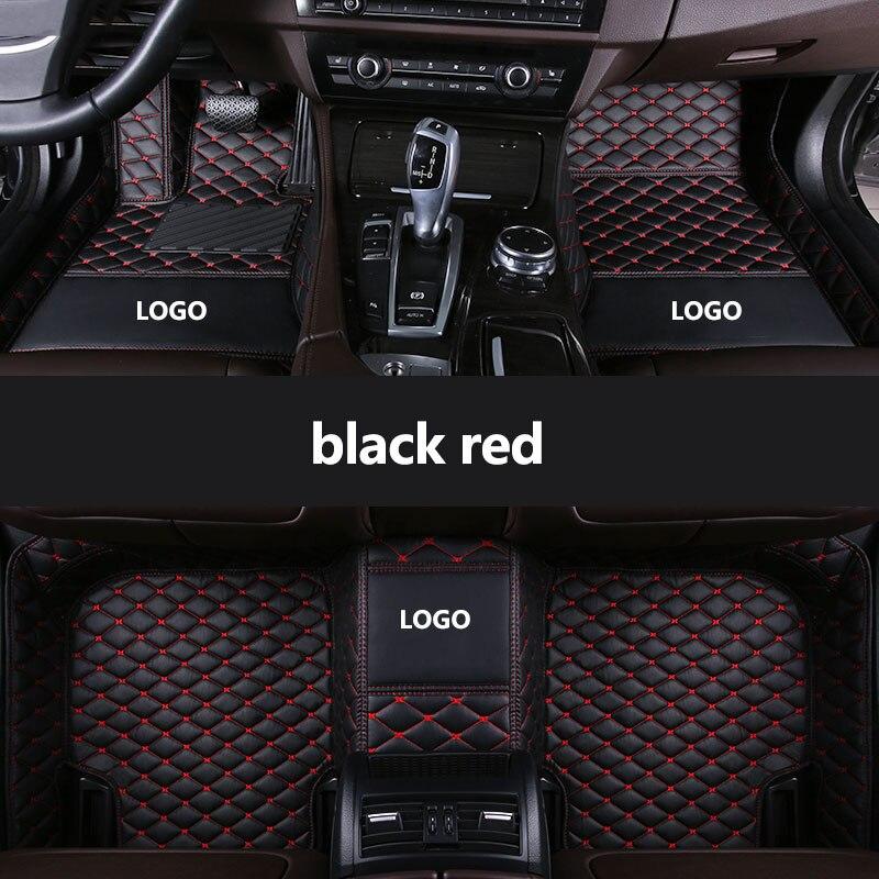 HeXinYan Individuelles LOGO Auto Fußmatten für Audi alle modell A1 A3 A8 A7 S8 R8 TT Q5 Q7 A4 a5 S5 S6 S7 SQ5 A6 Q3 S3 SR4-7 auto styling