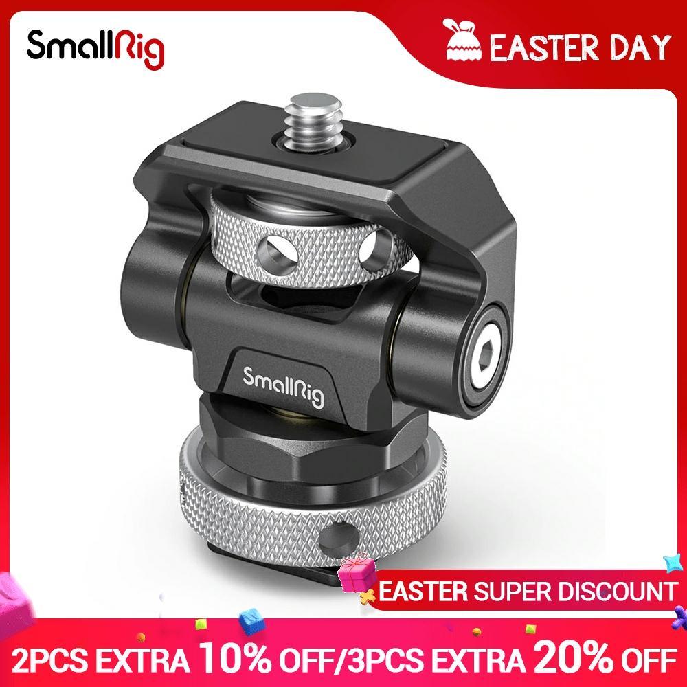 SmallRig-montaje de Monitor giratorio y ajustable, montaje de zapata fría para SmallHD/Atomos/Blackmagic...