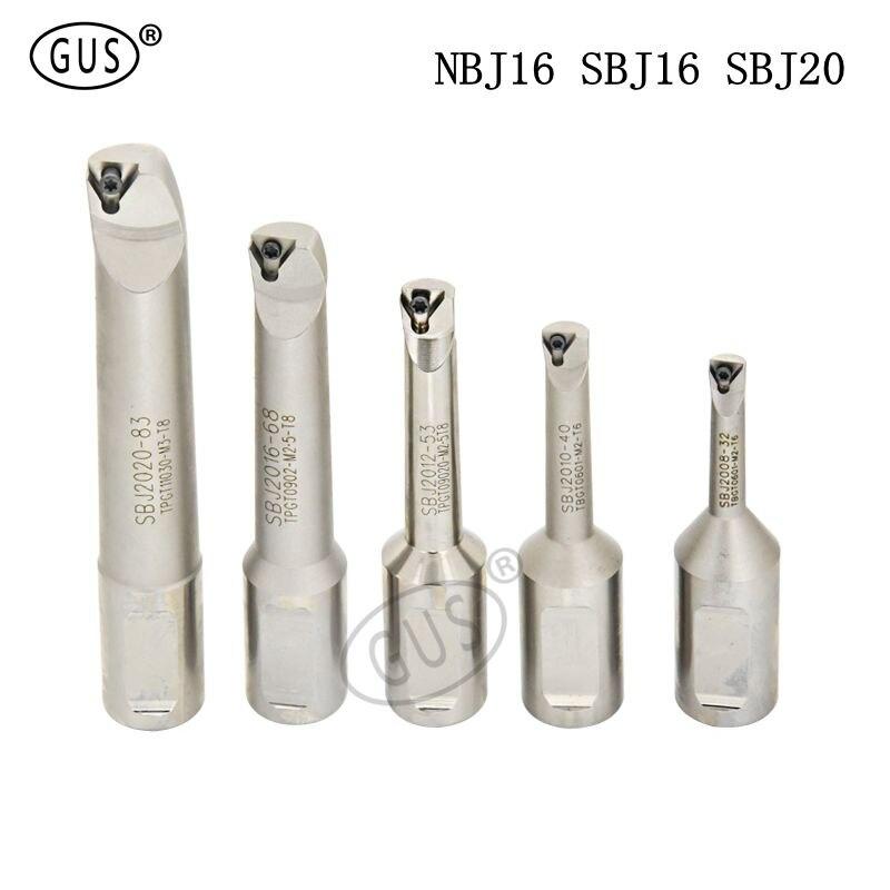 Free shipping NBJ16 SBJ16 SBJ20 boring bar adapter cutters tools for NBH2084 fine tool CNC machine holder