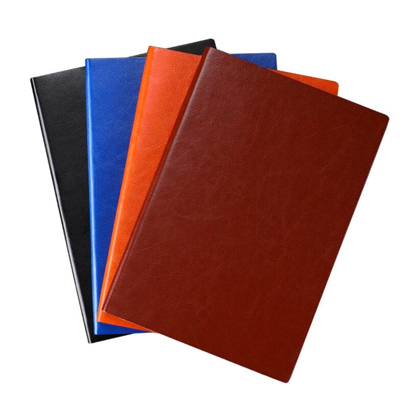 Супер толстый блокнот из искусственной кожи, 200 страниц, блокнот для бизнеса, ежедневник, блокнот для бизнеса, офиса, ежедневная работа, блок...