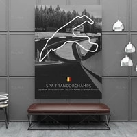 hd print modern spa francorchamps modern poster painting