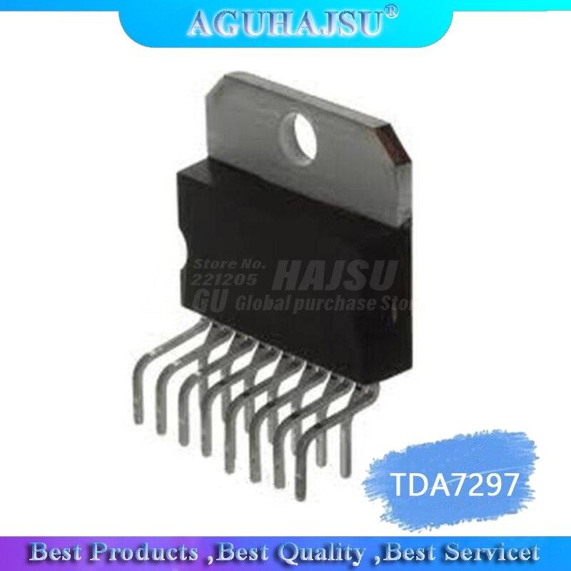 1 unids/lote TDA7297 15W + 15W 12V chip amplificador ZIP