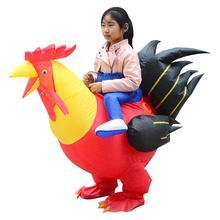 Adulte gonflable coq Costume carnaval fête Costume poulet coq Cosplay Costumes déguisement