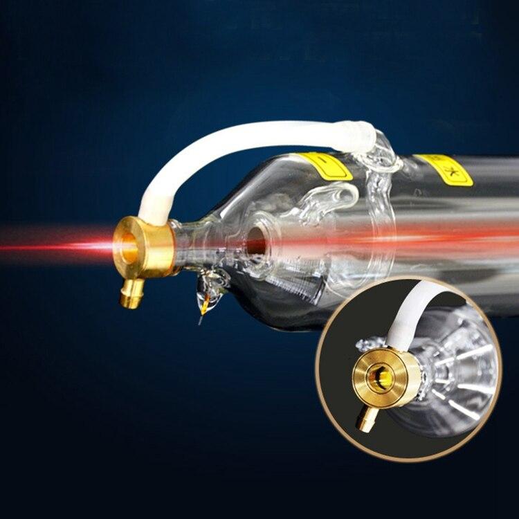 0133 veci 50w co2 vidro tubo do laser diâmetro 50mm comprimento 820mm para a máquina de corte gravura do laser