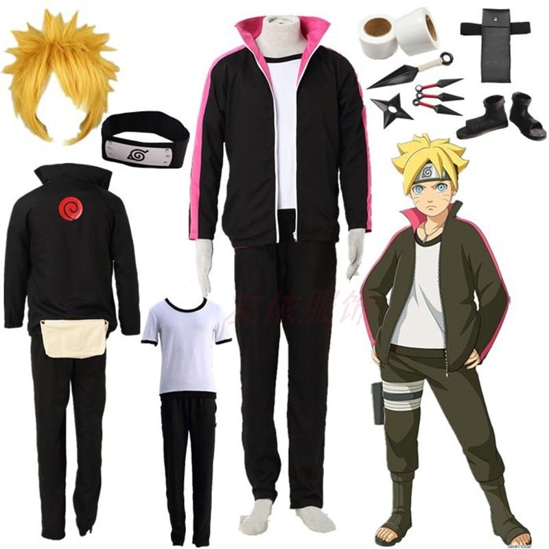 BORUTO Uzumaki Boruto Halloween Cosplay Costume NARUTO THE MOVIE Halloween costumes