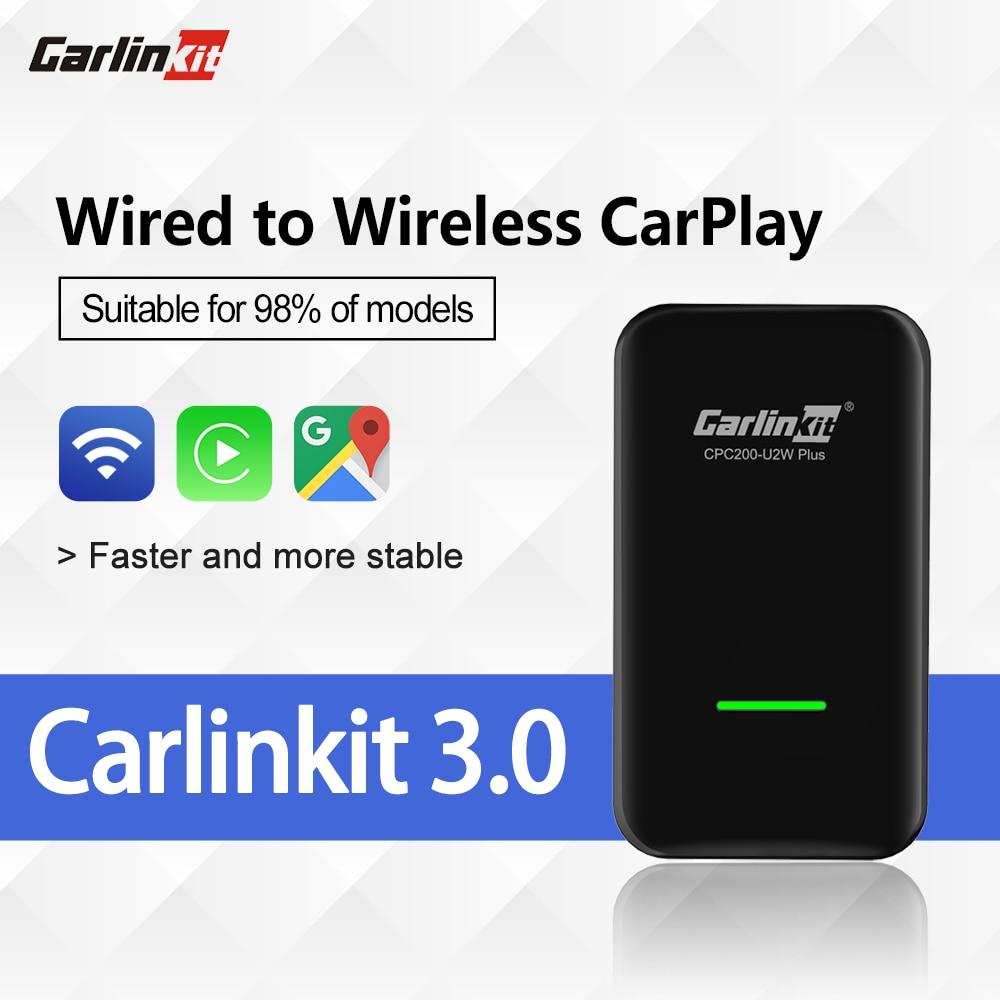 Carlinkit 3.0 Apple CarPlay беспроводной активатор ключа для Audi Proshe Benz VW Volvo и Toyota IOS 14 Plug And Play Car MP4 MP5