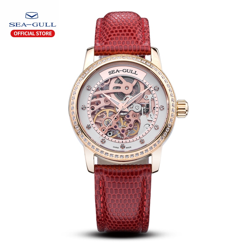 Seagull new ladies watch ladies automatic mechanical watch 34mm fashion casual watch ladies sapphire watch 719.403L
