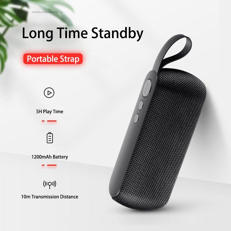 Portable Bluetooth Speaker Wireless Loudspeaker Mini Sound System 3D Stereo Column Outdoor Boombox Speaker Box Support TF FM Aux enlarge